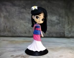 young,lady,female,girl,disney,film,anime,cartoon,character,mulan,toy,figurine,qposket,painted,plastic,cute,collectible, DON CHARISMA